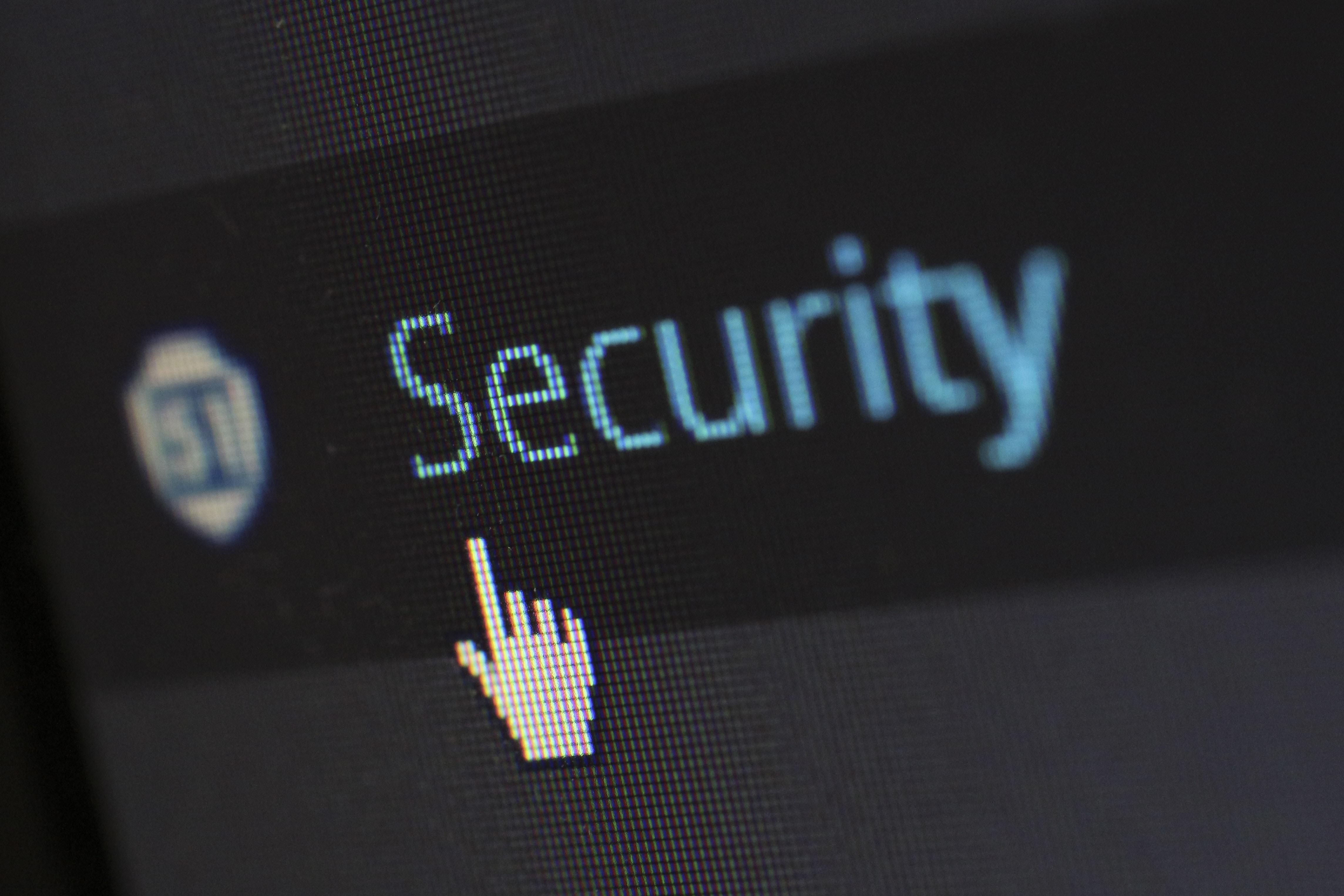 """Rechte und Rollen repräsentiert durch Screenshot eines CTA """"Security"""""""